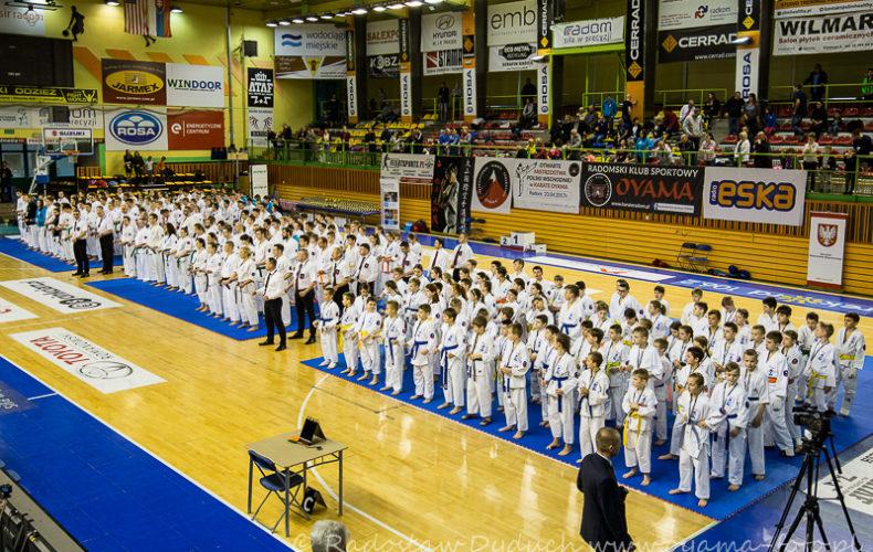 Otwarte Mistrzostwa Polski Wschodniej Karate OYAMA Radom 23.04.2017
