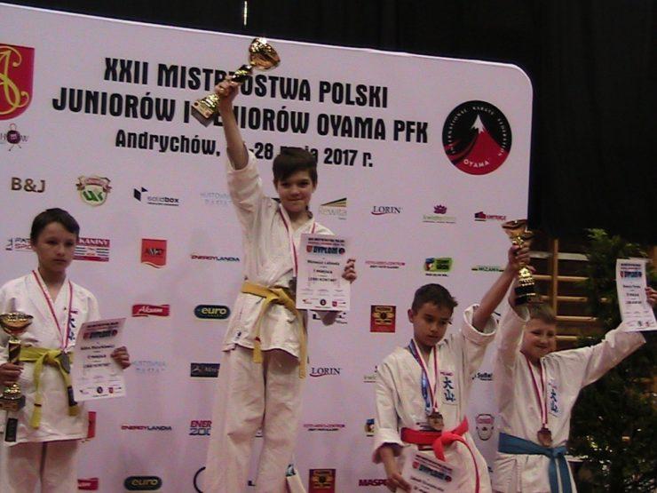 XXII MP Oyama Karate w Kumite Andrychów 2017