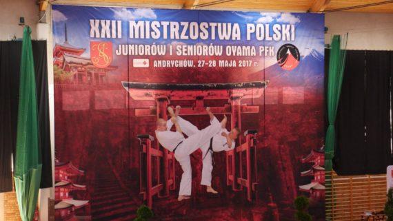 XXII Mistrzostwa Polski Karate OYAMA Andrychów 27-28.05.2017