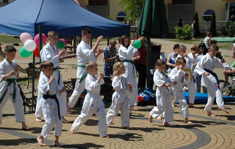 Pokaz Karate w SP 18