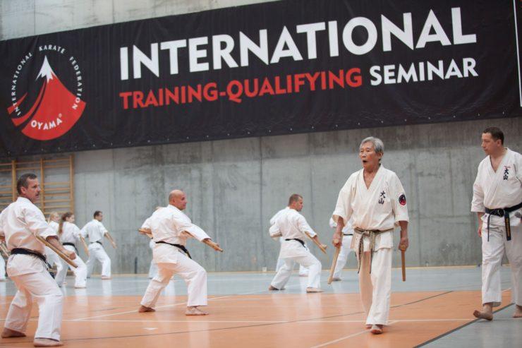 Seminarium z Soshu Shigeru Oyama 10 Dan 27.05.2012 taizan kata