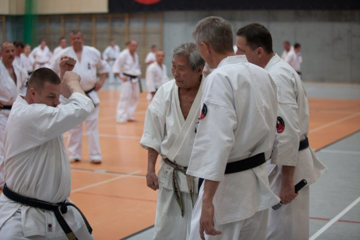 Seminarium z Soshu Shigeru Oyama 10 Dan 27.05.2012 kanku dai kata