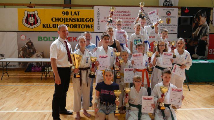 Turniej o Puchar Marszałka Województwa Łódzkiego w kata i kumite OYAMA PFK