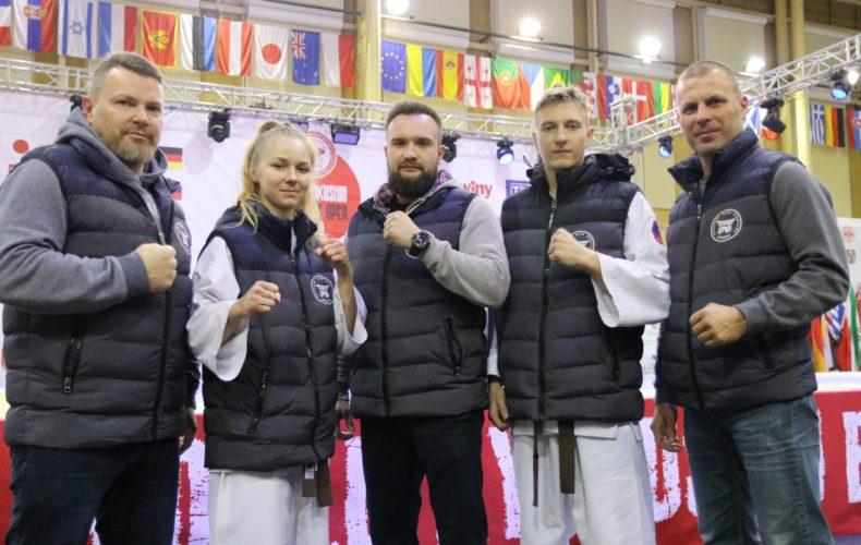 Wspaniały występ naszych zawodników na Mistrzostwach i Pucharze Europy World Kyokushin Karate w Dębicy 23-24.11.2019